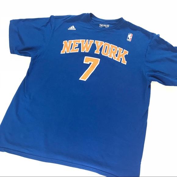 6626d74d adidas Shirts | New York Knicks Carmelo Anthony T Shirt | Poshmark